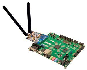 Zed Board with Analog Devices RF card